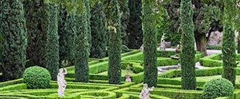 Giardino Giusti formal gardens Verona